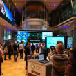 Open day on the Warsaw Stock Exchange - Stock Photo