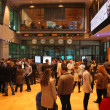 Open day on the Warsaw Stock Exchange — Stock Photo #8537727