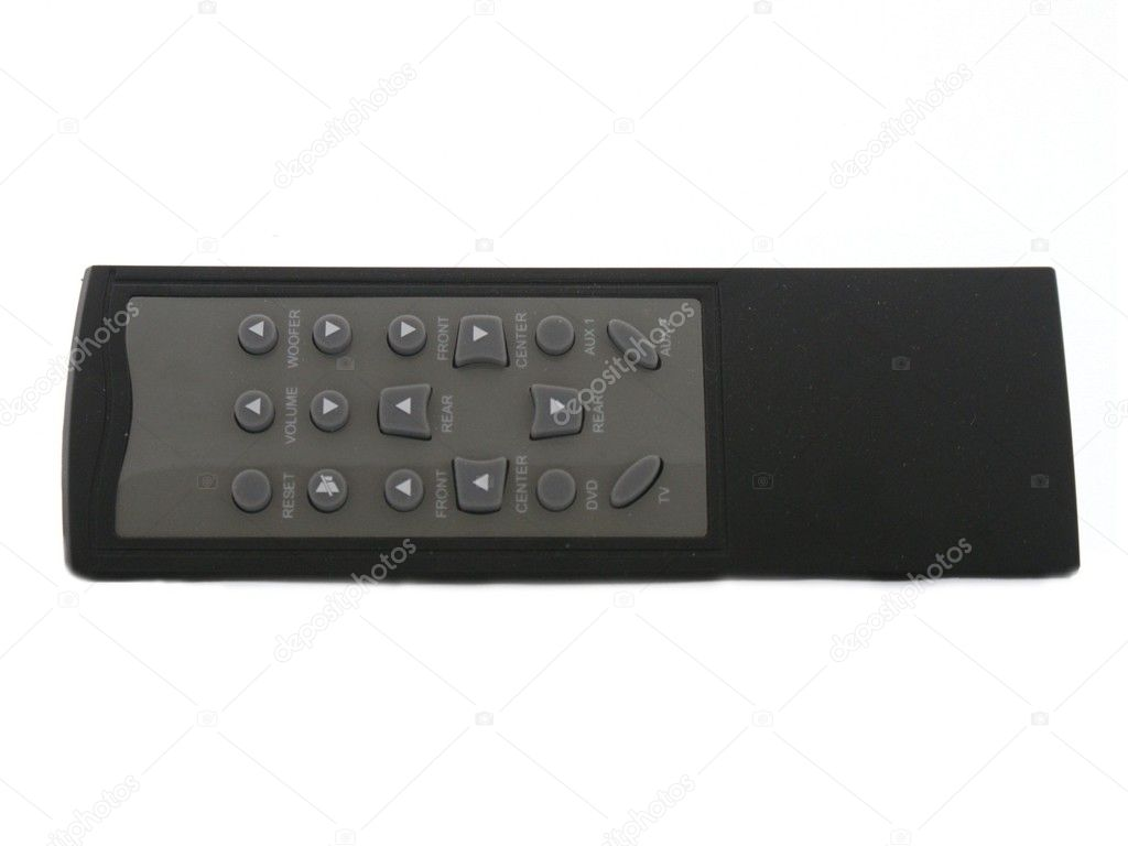 This is TV remote control isolated on white background  Stock Photo #9133019