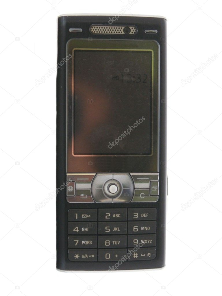 This is traditional cell phone — Stock Photo #9133040