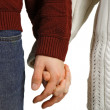 Holding hands — Stock Photo