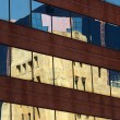 Building reflections — Stock Photo