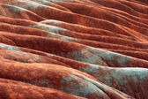 Red clay — Stock Photo