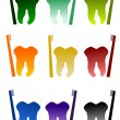 Royalty-Free Stock Vector Image: Dental symbol