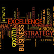 Business word cloud - Stock Photo