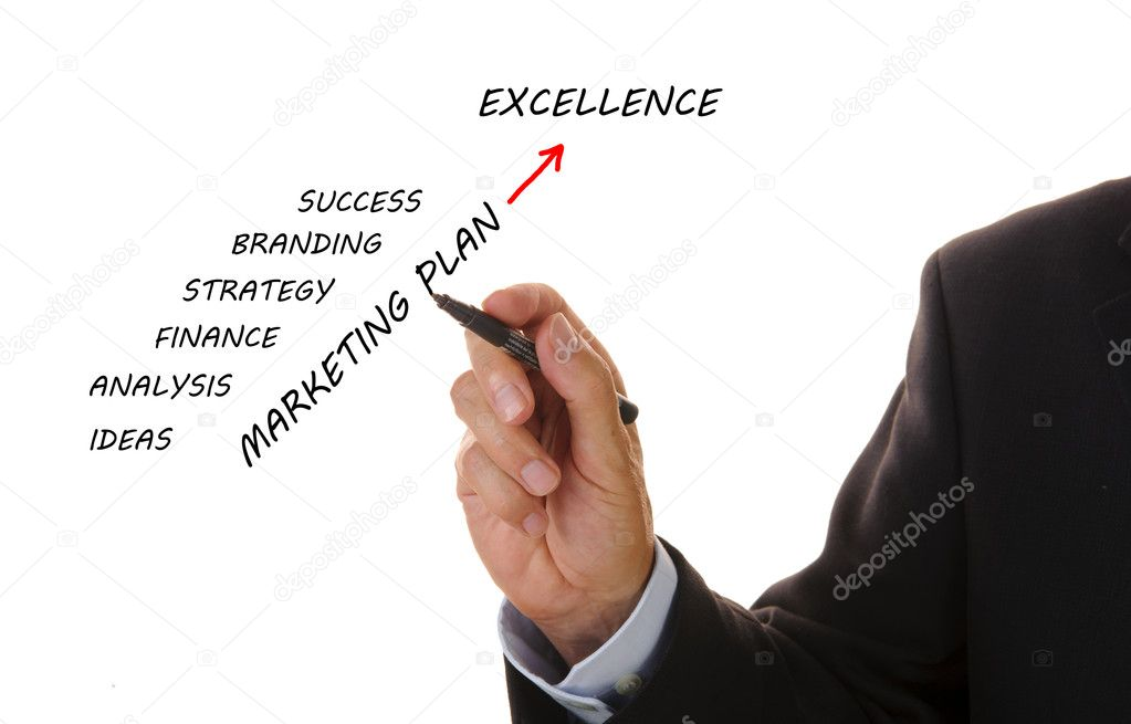 Business Marketing Plan  Stock Photo  Filmfoto
