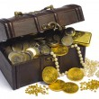 treasure chest — Stock Photo