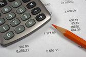 Cálculo financiero — Foto de Stock