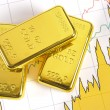 Gold bars — Stock Photo #9510145