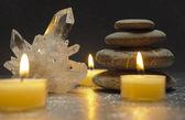 Zen-Kristall — Stockfoto