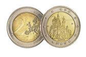 -euro-münze — Stockfoto