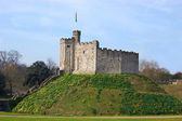 The keep of Cardiff Castle, in Wales — Stock Photo