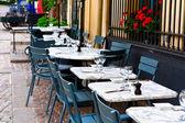 French restaurant — Stock Photo