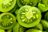 Little green tomatos — Stock Photo