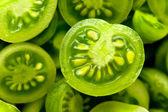 Little green tomatos — Stock Photo