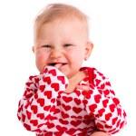 Studio portrait of little baby — Stock Photo #10263085