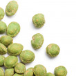 Wasabi snack peanuts - Zdjcie stockowe