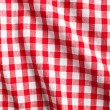Stock Photo: White and red checkered background