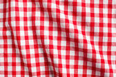 White and red checkered background — Stock Photo