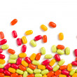 Colorful candies background — Foto de Stock