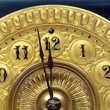 Stock Photo: Antique mantle clock hands