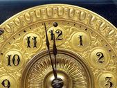 Antique mantle clock hands — Stock Photo