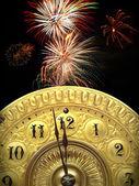 New years strike twelve — Stock Photo
