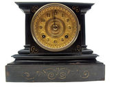 Antique mantle clock — Stock Photo
