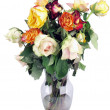 Wilted roses bouquet - Stock Photo