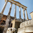 Stock Photo: Temple of Saturn in Roma