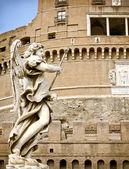 Castel sant'angelo a Roma — Foto Stock