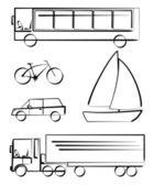 Transportfordon — Stockfoto