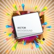 Abstract vector background. - Image vectorielle
