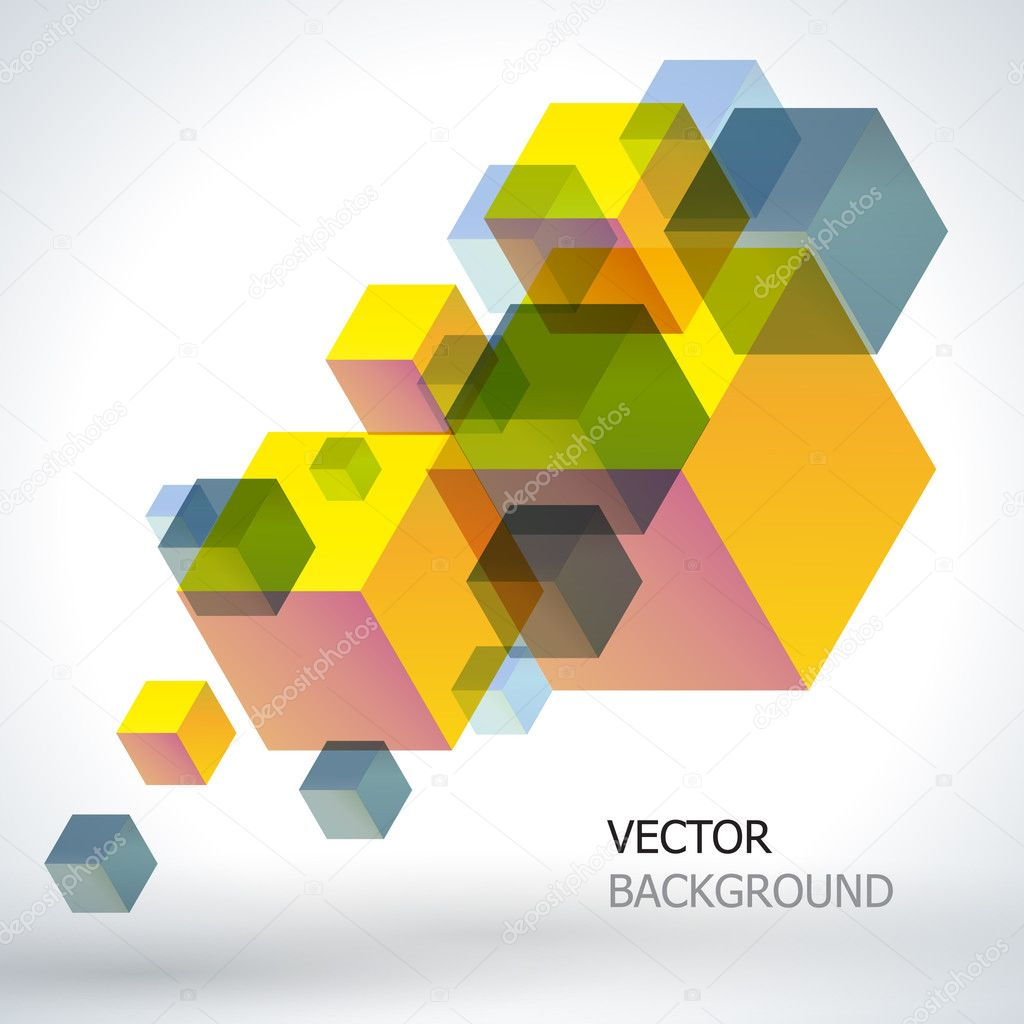 Abstract vector background. — Stock Vector #8554881
