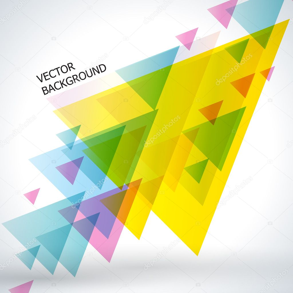 Abstract vector background. — Stock Vector #8554884