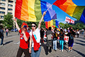 Gay Fest Parade — Stock Photo