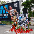 Stock Photo: Michael Jackson Memorial