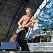 Def Leppard performs at Romexpo — Stock Photo
