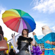 Participants parade at Gay Fest Parade — Stock Photo