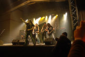 Trooper performs at Hala supporting Nazaret — Stock Photo