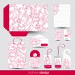 Stationery design set — Stock Vector #9366473