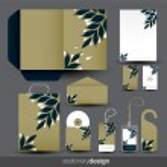 Stationery design set — Stock Vector #9383358
