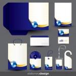 ひな形のデザイン テンプレート — ストックベクタ
