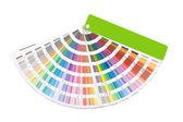 Образец цвета руководство — Стоковое фото