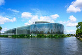 European parliament building in Strasbourg — Stock Photo