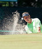Luke Donald at the 2011 US Open — Stock Photo