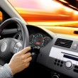 Dashboard of car — Stockfoto