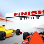 Постер, плакат: Formula one cars