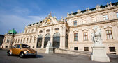 Historical architecture of Belvedere, Vienna, Austria — Stock Photo