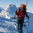 Ski touring — Stock Photo #8964532